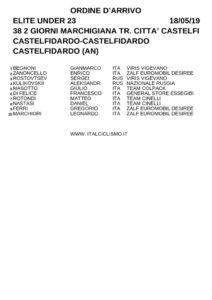 thumbnail of XGFFQTQAGAAA TROFEO CITTA CASTELFIDARDO 2019 ORDINE ARRIVO NSJSGGTTSTTQQQ