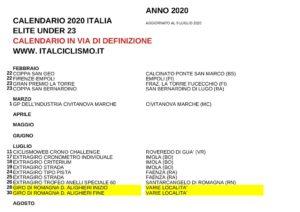 thumbnail of XXCALENDARIRBO 2GB020 ELITE UDCNDER 23 ITAL