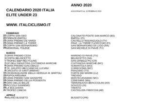 thumbnail of XXX CALSSENBXHXHDARIO 2020 ELISSXTE UNXAAADER 23 ITAAALIA –