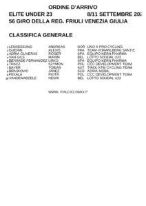 thumbnail of XC ORDINE ARRIVO GENERALE FINALE GIRO FRIULI VENEZIA GIULIA 2020