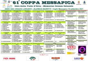 thumbnail of 1 ELENCO ISCRITTI COPPA MESSAPICA 2021